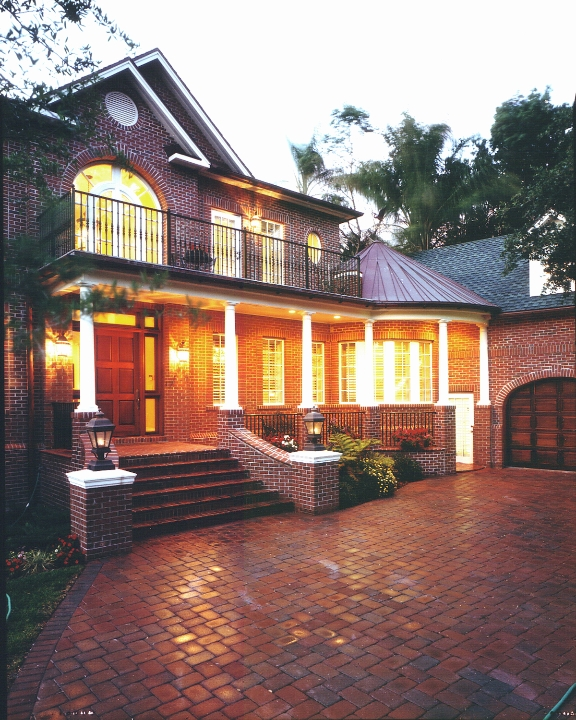 Brick Colonial Custom Residence, Tampa, Florida
