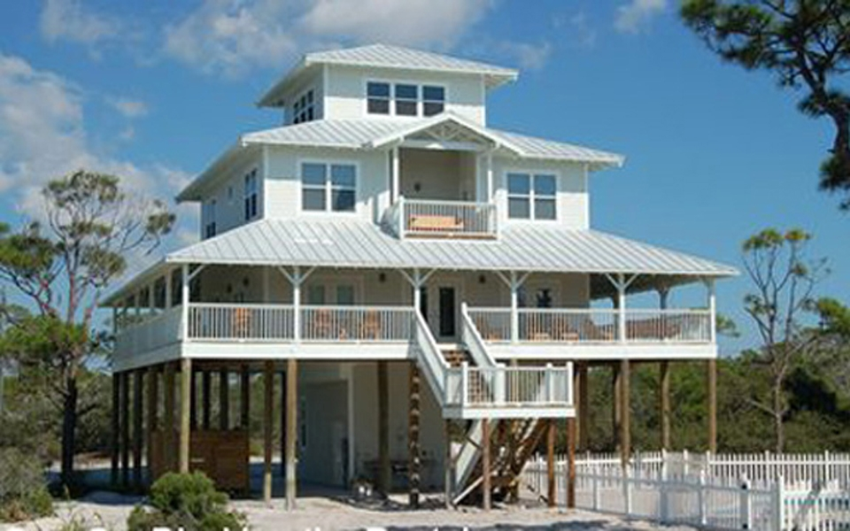 Florida Beach Custom Residence, Port St. Joe, Florida